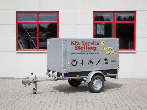 02 | Anhänger max. 750 kg ungebremst